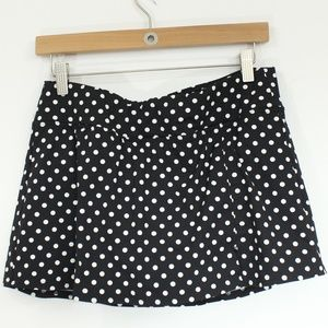 Lands End Mini SwimMini Swim Skirt sz 10 Swimsuit